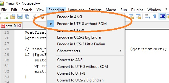 encode-without-bom