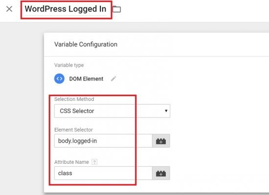 Create the variable in Google Tag Manager