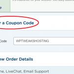 Enter a Hostgator Coupon Code