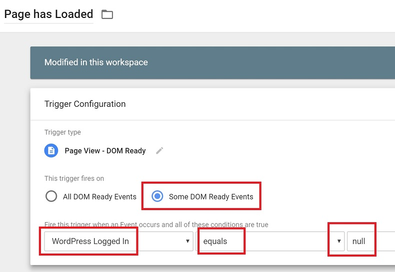 Tutorial: Exclude Logged in WordPress Users with Google Tag