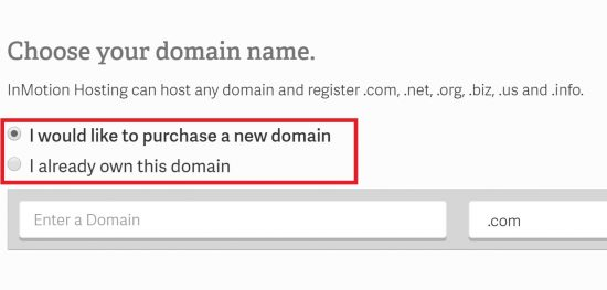 Free Domain InMotion Hosting Coupon