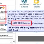 CPU Seconds Limitations