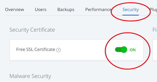 Enable Bluehost Let's Encrypt Free SSL