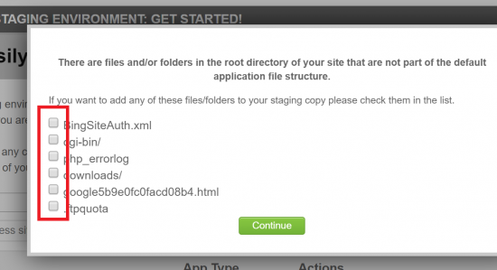Excess files Not Part of WordPress