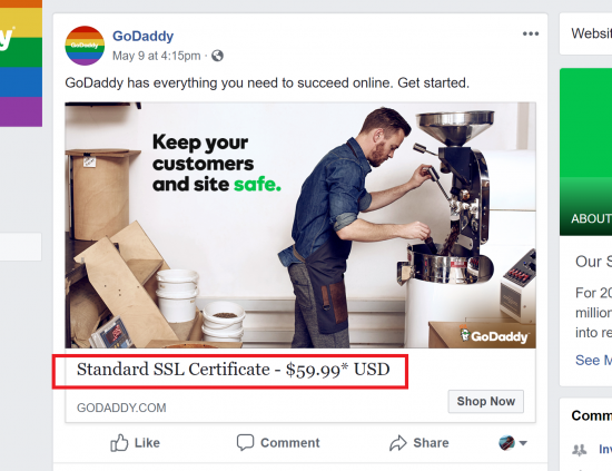 GoDaddy Still Requires Paid SSL