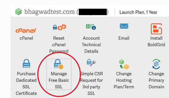 Manage Basic SSL