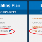 Free SSL from Hostgator