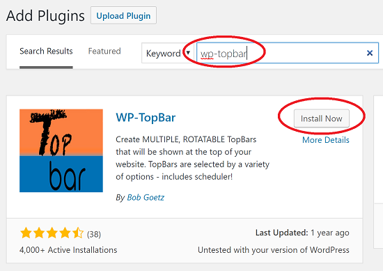 "How to Implement a ""Top Bar"" in WordPress for Special ..."