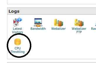 Bluehost CPU Throttling in cPanel