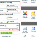 SiteGround GoGeek Resource Usage