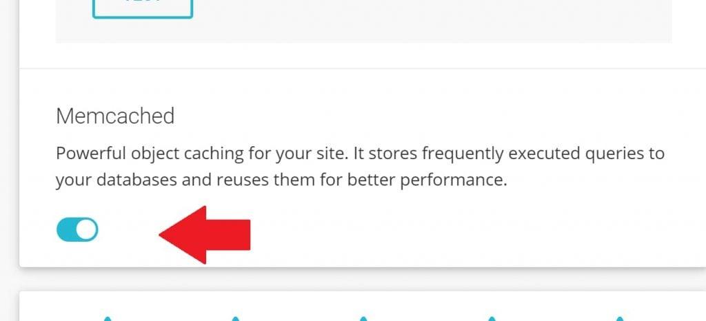 Memcached on SiteGround Plugin