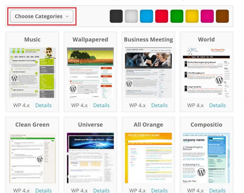 SiteGround WordPress Themes