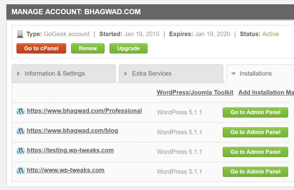 SiteGround WordPress Login Options