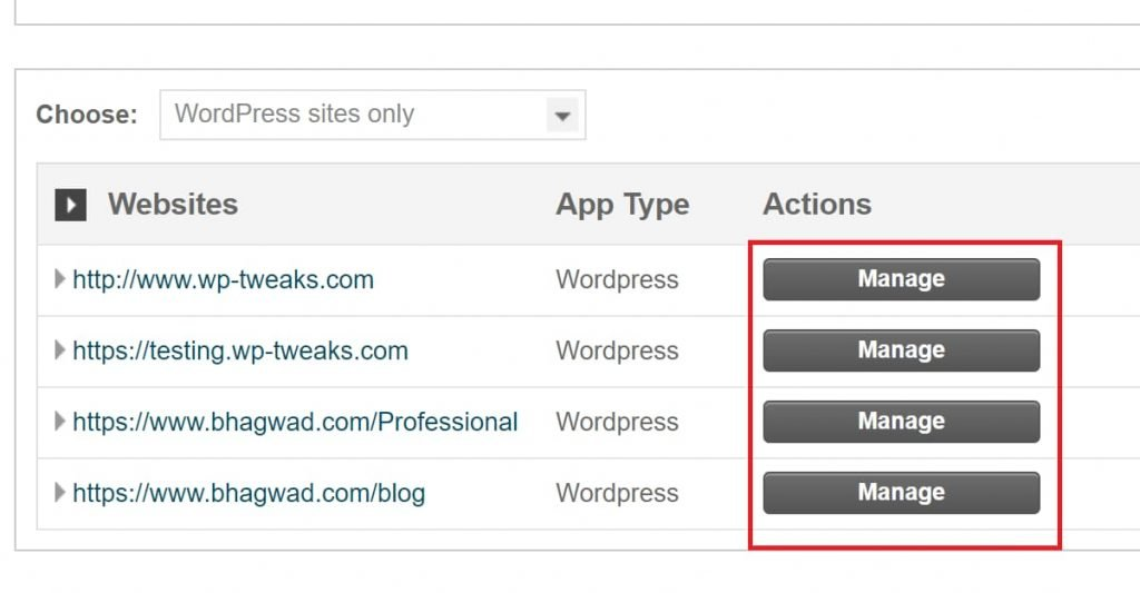 Recover WordPress Login Credentials via Siteground