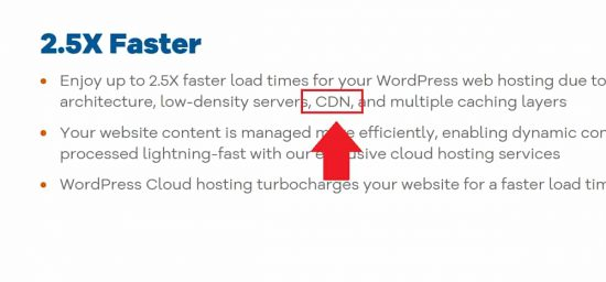 Hostgator CDN Comes with WordPress