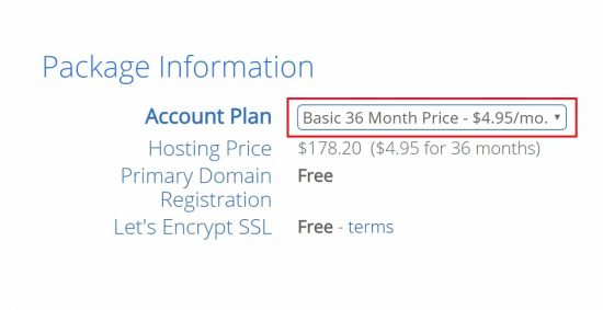 Increase in Bluehost Pricing to $4.95/m