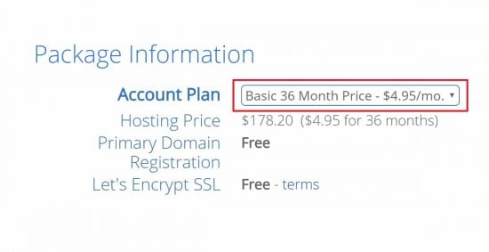 Bluehost new price in 2020 might be $4.95/m