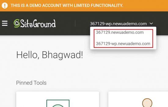 SiteGround's New Focus on Sites instead of Hosting Accounts