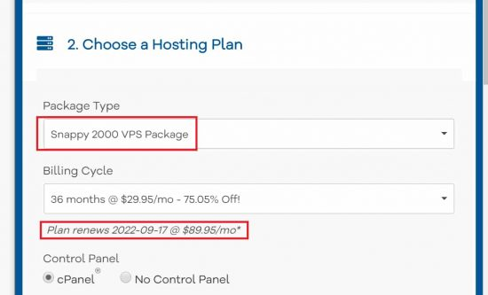 Hostgator VPS Pricing is More Expensive