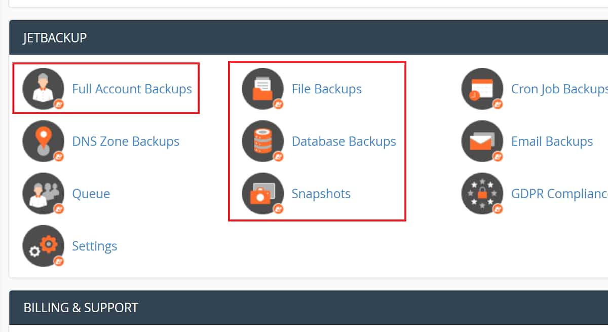 NameHero's Backup Allows Snapshots on All Plans