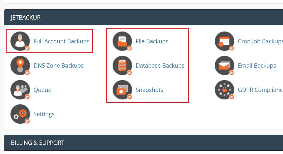 NameHero's Backup Allows Snapshots on All Plans