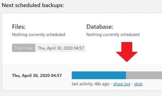 UpdraftPlus Running Slowly on Web Hosting