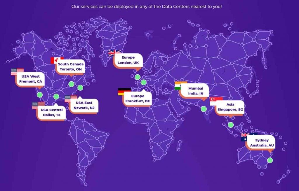 HostArmada Data Center Locations