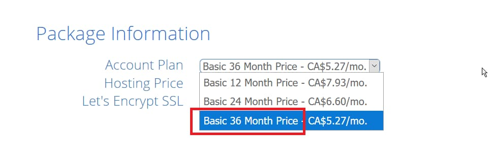 Bluehost Discounts Last only for 36-Months